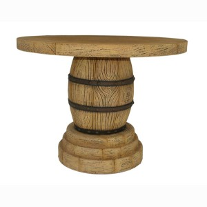 WINE BARREL TABLE 1