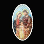 HOLY FAMILY MOSAIC DÉCOR 1