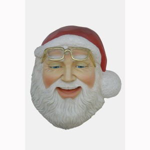 SANTA&#8217,S FACE WALL DÉCOR 1