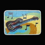 GUITAR MOSAIC DÉCOR 1