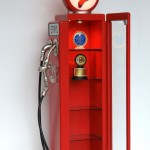 GAS PUMP DISPLAY SHELF (Red) 1