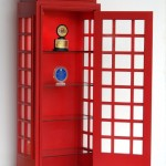 TELEPHONE BOOTH HALF DISPLAY SHELF 1