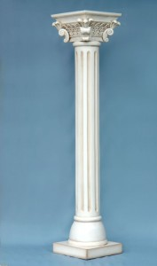 CORINTHIAN PILLAR (WHITE) 1