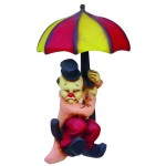 CLOWN WITH UMBRELLA 1