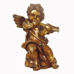 ANGEL STANDING WITH FLUTE 1