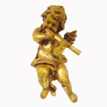 ANGEL HANGING WITH FLUTE 1