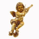 ANGEL HANGING WITH VIOLIN 1