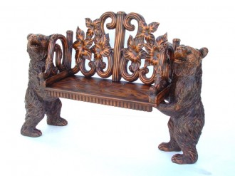 BENCH WITH TWO BEARS 1