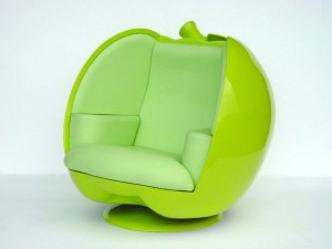 APPLE CHAIR (GREEN) 1