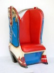COWBOY BOOT CHAIR 1