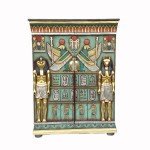 EGYPTIAN CABINET WITH TWO DOORS 1