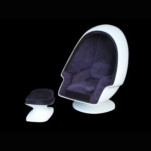 FOOTREST FOR EGG CHAIR (WHITE) 1