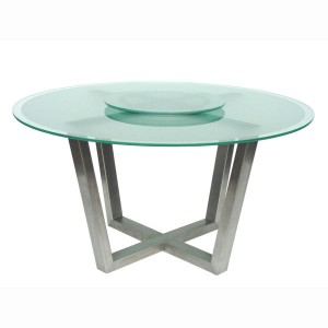 ROUND DINNING TABLE WITH LAZY SUSAN 1