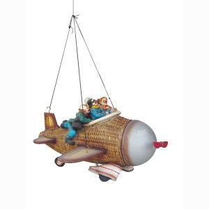 AIRPLANE RATTAN WITH CLOWNS 1