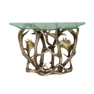 CONSOLE TABLE (excluding glass) 1