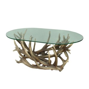 COFFEE TABLE OVAL (excluding glass) 1