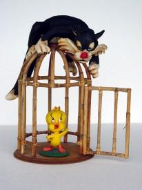 CAT AND BIRD 1