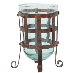 GLASS W/ IRON STAND MINI CELTIC 1