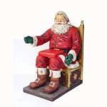 SANTA ON THRONE 1