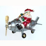 SANTA ON AIRPLANE 1