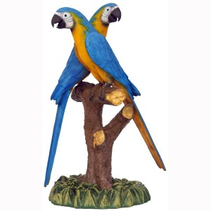 BLUE GOLD MACAW LOVER 1