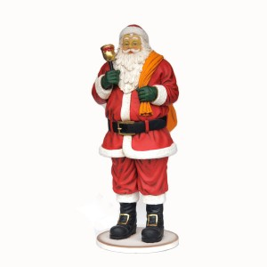 SANTA WITH BAG AND BELL 1