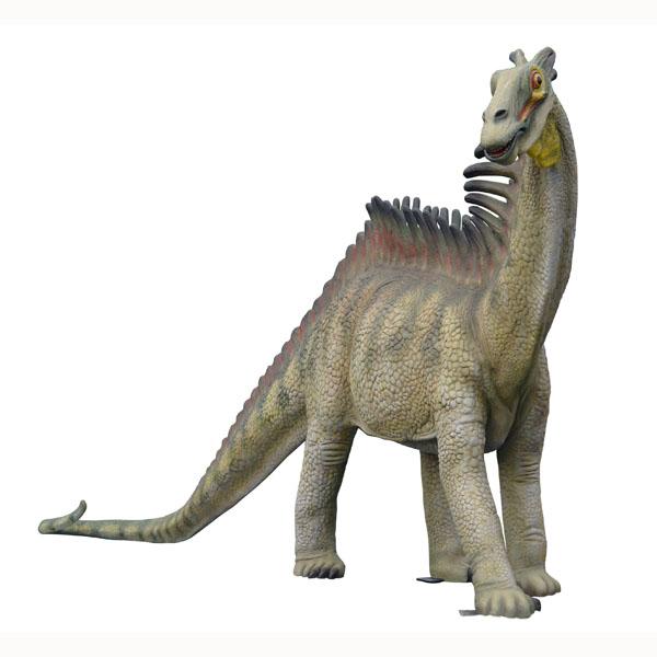 Dinosaur World 66 X 54 Lined Curtains Tie Backs: AMARGASAURUS