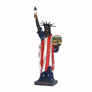 STATUE OF LIBERTY WITH HAMBURGER (5 FT) 1