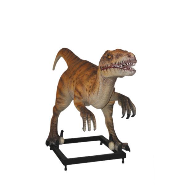 Dinosaur World 66 X 54 Lined Curtains Tie Backs: Velociraptor
