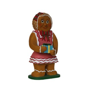 GINGER BREAD GIRL WITH GIFT 1