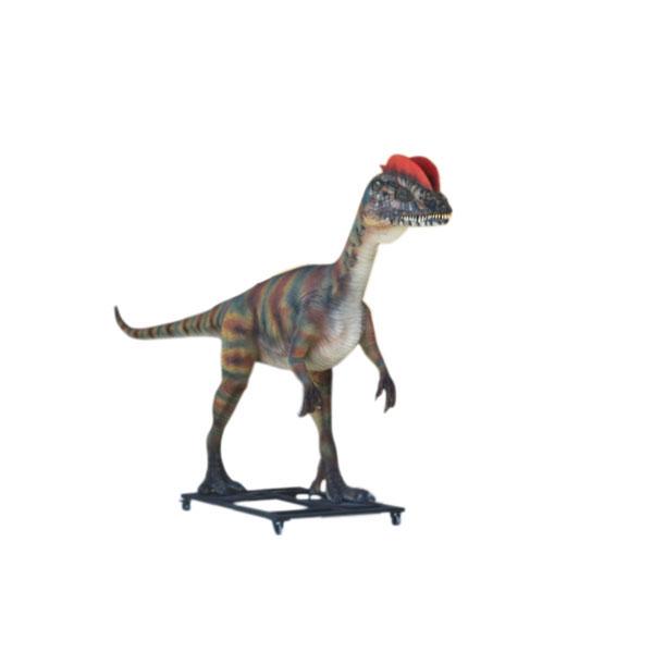 Dinosaur World 66 X 54 Lined Curtains Tie Backs: Dilophosaurus
